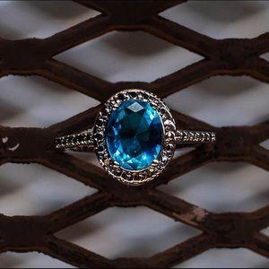Jewelry - Topaz CZ Crystal Ring